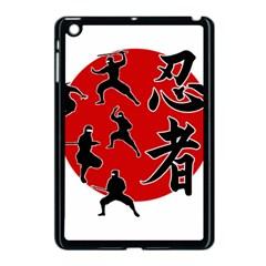 Ninja Apple Ipad Mini Case (black) by Valentinaart