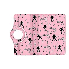 Elvis Presley  Pink Pattern Kindle Fire Hd (2013) Flip 360 Case by Valentinaart