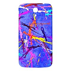 Paint Splashes                 Samsung Galaxy Note 4 Pu Leather Hardshell Back Case by LalyLauraFLM