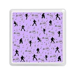 Elvis Presley  Pattern Memory Card Reader (square)  by Valentinaart