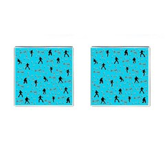 Elvis Presley  Pattern Cufflinks (square) by Valentinaart