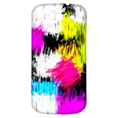 Colorful Blurry Paint Strokes                   Samsung Galaxy S Iii Flip 360 Case by LalyLauraFLM