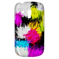 Colorful Blurry Paint Strokes                   Samsung Galaxy Ace Plus S7500 Hardshell Case by LalyLauraFLM