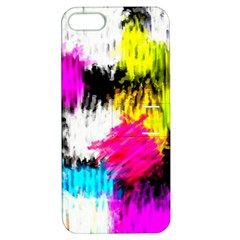 Colorful Blurry Paint Strokes                   Apple Iphone 4/4s Hardshell Case With Stand by LalyLauraFLM