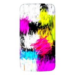 Colorful Blurry Paint Strokes                   Samsung Galaxy Note 4 Pu Leather Hardshell Back Case by LalyLauraFLM