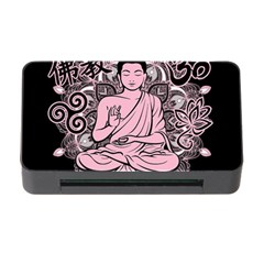 Ornate Buddha Memory Card Reader With Cf by Valentinaart