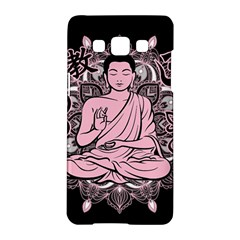 Ornate Buddha Samsung Galaxy A5 Hardshell Case  by Valentinaart