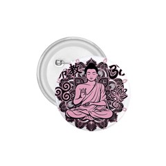 Ornate Buddha 1 75  Buttons by Valentinaart