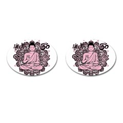 Ornate Buddha Cufflinks (oval) by Valentinaart