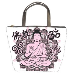 Ornate Buddha Bucket Bags by Valentinaart