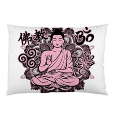 Ornate Buddha Pillow Case by Valentinaart