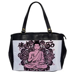 Ornate Buddha Office Handbags by Valentinaart