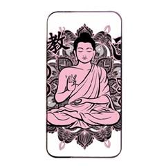 Ornate Buddha Apple Iphone 4/4s Seamless Case (black) by Valentinaart