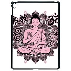 Ornate Buddha Apple Ipad Pro 9 7   Black Seamless Case by Valentinaart