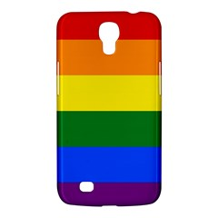 Pride Rainbow Flag Samsung Galaxy Mega 6 3  I9200 Hardshell Case by Valentinaart