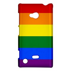 Pride Rainbow Flag Nokia Lumia 720 by Valentinaart