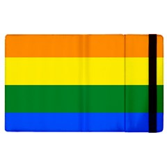 Pride Rainbow Flag Apple Ipad Pro 9 7   Flip Case by Valentinaart