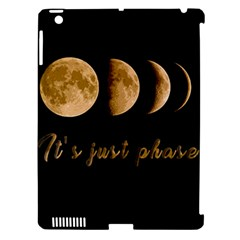 Moon Phases  Apple Ipad 3/4 Hardshell Case (compatible With Smart Cover) by Valentinaart