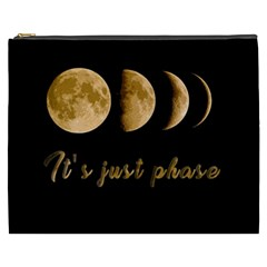 Moon Phases  Cosmetic Bag (xxxl)  by Valentinaart