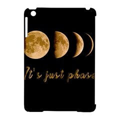 Moon Phases  Apple Ipad Mini Hardshell Case (compatible With Smart Cover) by Valentinaart