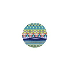 Tribal Print 1  Mini Buttons by BangZart