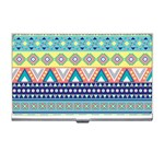 Tribal Print Business Card Holders Front