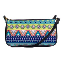 Tribal Print Shoulder Clutch Bags