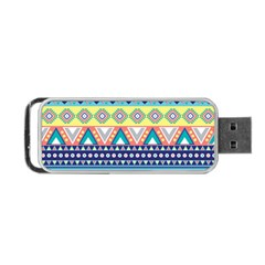 Tribal Print Portable Usb Flash (two Sides) by BangZart