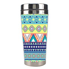 Tribal Print Stainless Steel Travel Tumblers