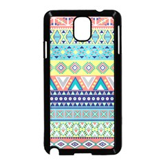 Tribal Print Samsung Galaxy Note 3 Neo Hardshell Case (black)
