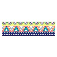 Tribal Print Satin Scarf (oblong)