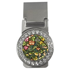 Bohemia Floral Pattern Money Clips (cz)  by BangZart