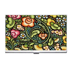 Bohemia Floral Pattern Business Card Holders