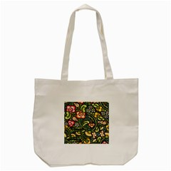 Bohemia Floral Pattern Tote Bag (cream) by BangZart