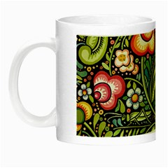 Bohemia Floral Pattern Night Luminous Mugs by BangZart