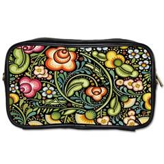 Bohemia Floral Pattern Toiletries Bags by BangZart