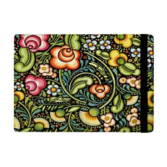 Bohemia Floral Pattern Apple Ipad Mini Flip Case