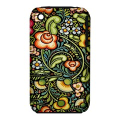 Bohemia Floral Pattern Iphone 3s/3gs by BangZart