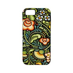 Bohemia Floral Pattern Apple Iphone 5 Classic Hardshell Case (pc+silicone) by BangZart