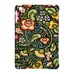 Bohemia Floral Pattern Apple Ipad Mini Hardshell Case (compatible With Smart Cover) by BangZart