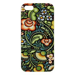 Bohemia Floral Pattern Iphone 5s/ Se Premium Hardshell Case by BangZart