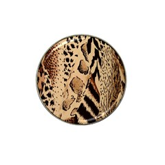 Animal Fabric Patterns Hat Clip Ball Marker (4 Pack) by BangZart