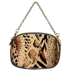 Animal Fabric Patterns Chain Purses (two Sides)