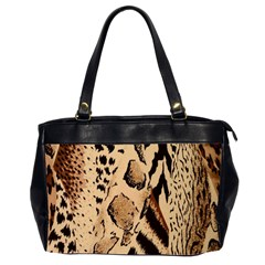 Animal Fabric Patterns Office Handbags (2 Sides)