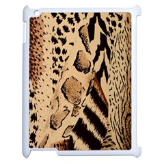 Animal Fabric Patterns Apple Ipad 2 Case (white) by BangZart