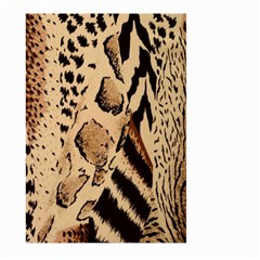 Animal Fabric Patterns Large Garden Flag (two Sides) by BangZart