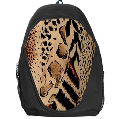 Animal Fabric Patterns Backpack Bag