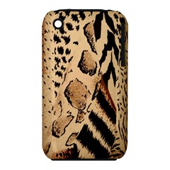 Animal Fabric Patterns Iphone 3s/3gs by BangZart