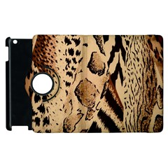 Animal Fabric Patterns Apple Ipad 3/4 Flip 360 Case by BangZart