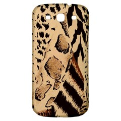 Animal Fabric Patterns Samsung Galaxy S3 S Iii Classic Hardshell Back Case by BangZart
